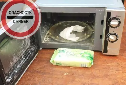 Показал жене, как за 6 минут очистить микроволновку от жира внутри и снаружи